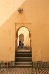 Fototapeta mosquée a Meknès