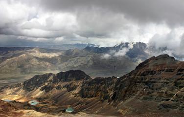 Bolivian mountain range
