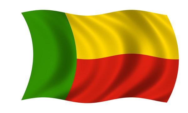 benin fahne flag