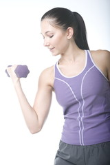 women lifting weight and working on their fitness
