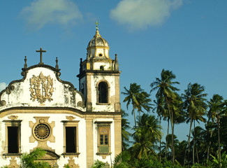 Old Church by the Coconut Trees