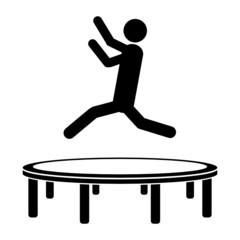 figur trampolin
