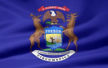 Michigan Flagge