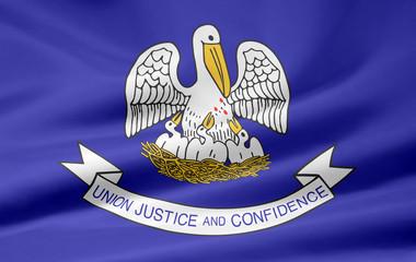Louisiana Flagge