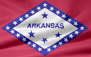 Arkansas Flagge