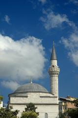 Mosque minaret in Istanbul