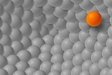 Abstract conceptual balls texture