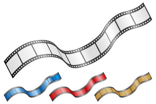 wavy film strip 2