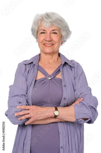 пожилая женщина наказала