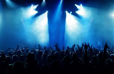 Besondere Licht-Show eines Konzerts