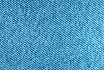 Macro of denim fabric for background use.