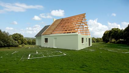 Maison construction 04