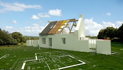 Maison construction 01
