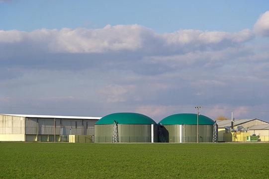 Biogas plant 01