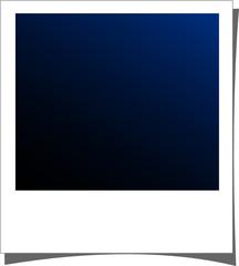 polaroid - blu notte