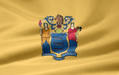 New Jersey Flagge