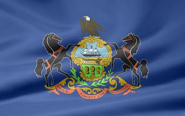Pennsylvania Flagge