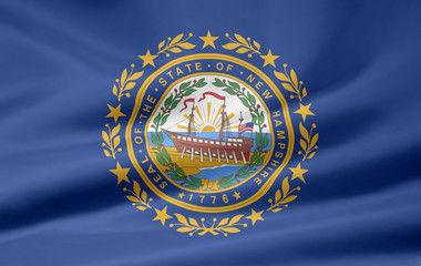New Hampshire Flagge