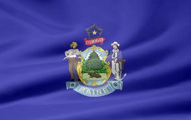 Maine Flagge