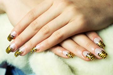 Gelly nails.