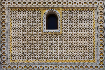 Ornamental pattern of Arabian residential construction