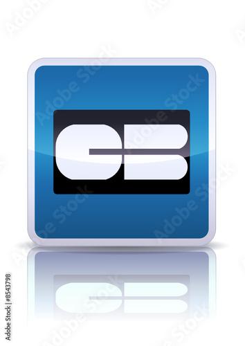 panneau de signalisation p age carte bancaire reflet m tal fichier vectoriel libre de droits. Black Bedroom Furniture Sets. Home Design Ideas