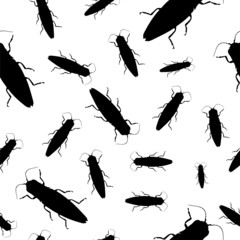 Background seamless - Cockroaches