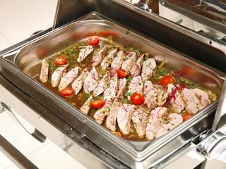 schweinefilet in portwein zwiebelsauce, winterküche