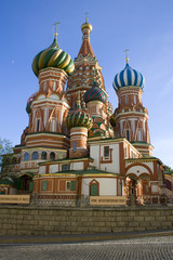 Wall Mural - Saint Basil's Cathedral on Red Square in Moscow