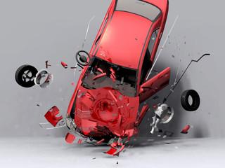 fall of the car