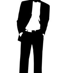 Rich Buisness Man Illustration