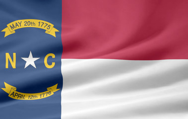 North Carolina Flagge