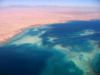 Flug über Egypt