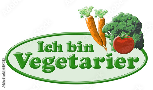 ich bin vegetarier