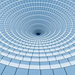 abstract circle 3d