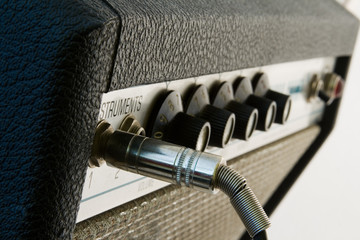 Vintage Vacuum Tube Amplifier