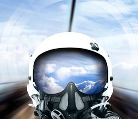 Kampfjet Pilot