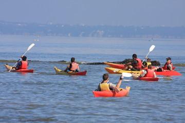 Kayaks de mers