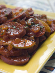 Chorizo Sausage Apples and Cider