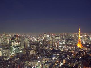 Keuken foto achterwand Tokyo tokyo from above