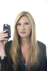blonde woman portraits