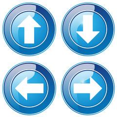 Richtungspfeile - Button