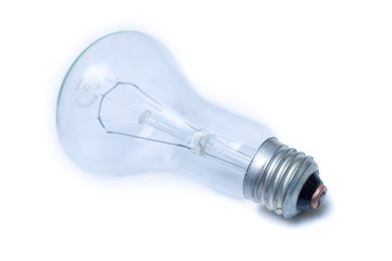 Electric blue bulb