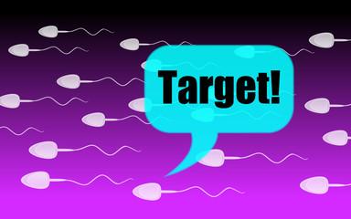 target sperm
