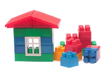 Child's blocks.