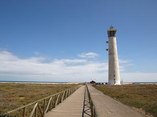 Der Leuchtturm von Jandia auf Fuerteventura