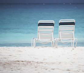 Beach Chairs offset