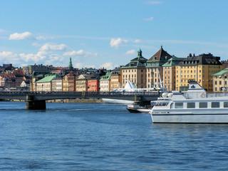 skyline of Stockholm