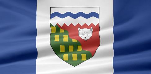 Nordwest Territorien Flagge