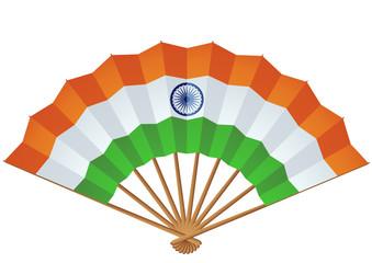 Eventail de l'Inde (détouré)